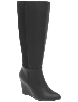 Stretch wedge boot