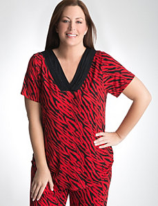 Plus Size Luxury Sleep Tee by Cacique