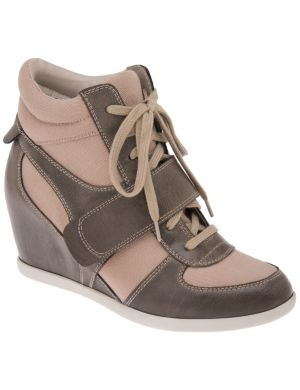 Wedge high-top sneakers