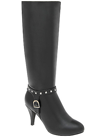 Wide Calf Harness Boot by Lane Bryant