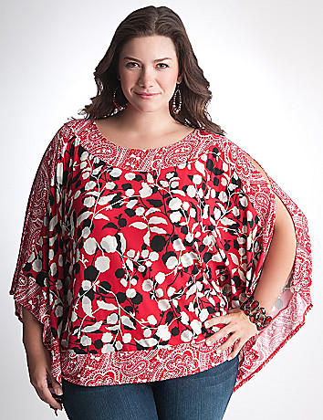 Full Figure Square Top by Lane Bryant