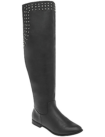 Wide Width Wide Calf Over The Knee Boot