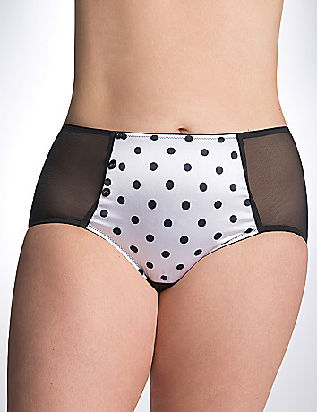 Full Figure Polka midi brief