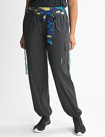 Plus Size Dance Woven Cargo Pant by Reebok