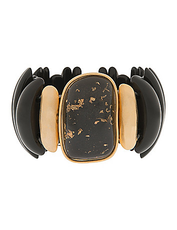 Black & Goldtone Bracelet by Lane Bryant