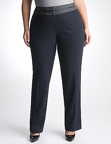 Plus Size Ponte Suit Pant by Lane Bryant