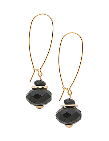 Lane Collection A-wire bead earrings