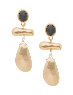 Lane Collection modern linear earrings