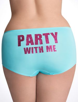 Party With Me boyshort panty