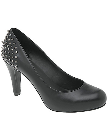 Wide Width Studded Pumps by Lane Bryant