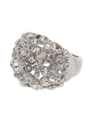 Rhinestone studded dome ring by Lane Bryant