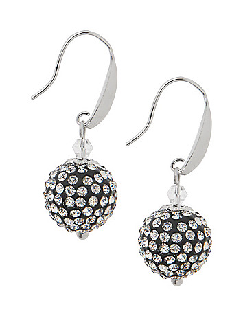 Fireball fish hook earrings by Lane Bryant