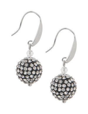 Fireball fish hook earrings by Lane Bryant