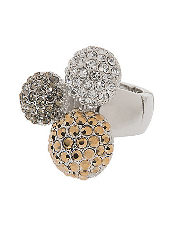 Fireball trio ring by Lane Bryant