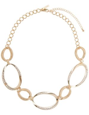 Oval link necklace by Lane Bryant