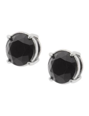 Faceted stud earrings by Lane Bryant