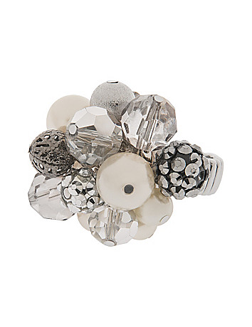 Pearl cluster ring by Lane Bryant