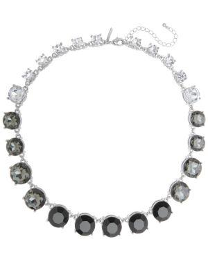 Gradient stone necklace