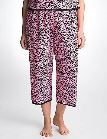 Plus Size Animal Sleep Crop Pant by Cacique