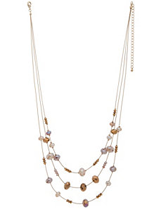 Nested illusion necklace by Lane Bryant
