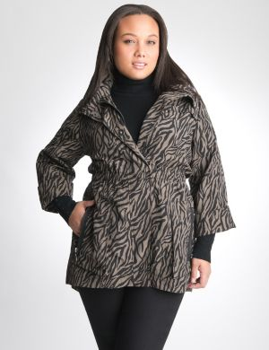 Zebra anorak jacket