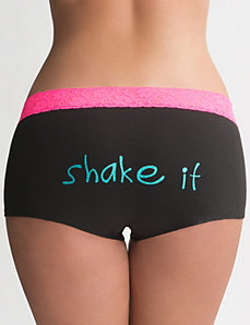 Shake It cotton boyshort