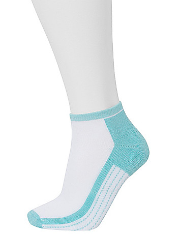 Cushioned Sport  Sock 3 Pair Set by Lane Bryant
