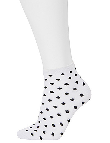 Ditsy Dot Low Cut Sock 3 Pack