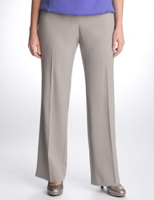 Dashed pinstripe suit pant