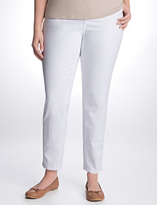 Full figure ankle length skinny jean