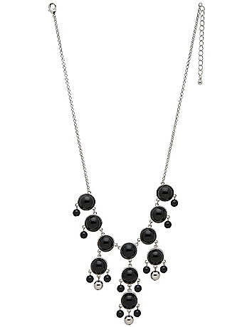 Polished stone necklace by Lane Bryant