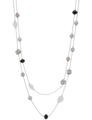 Nested fireball bead necklace by Lane Bryant