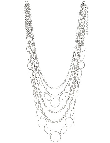 Multi chain nested necklace by Lane Bryant