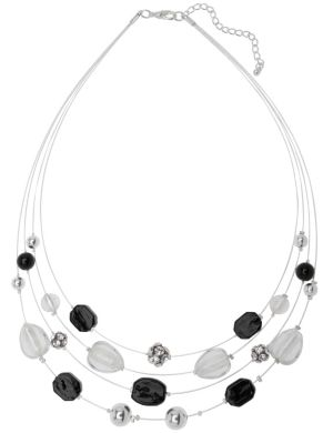 4 row illusion necklace by Lane Bryant
