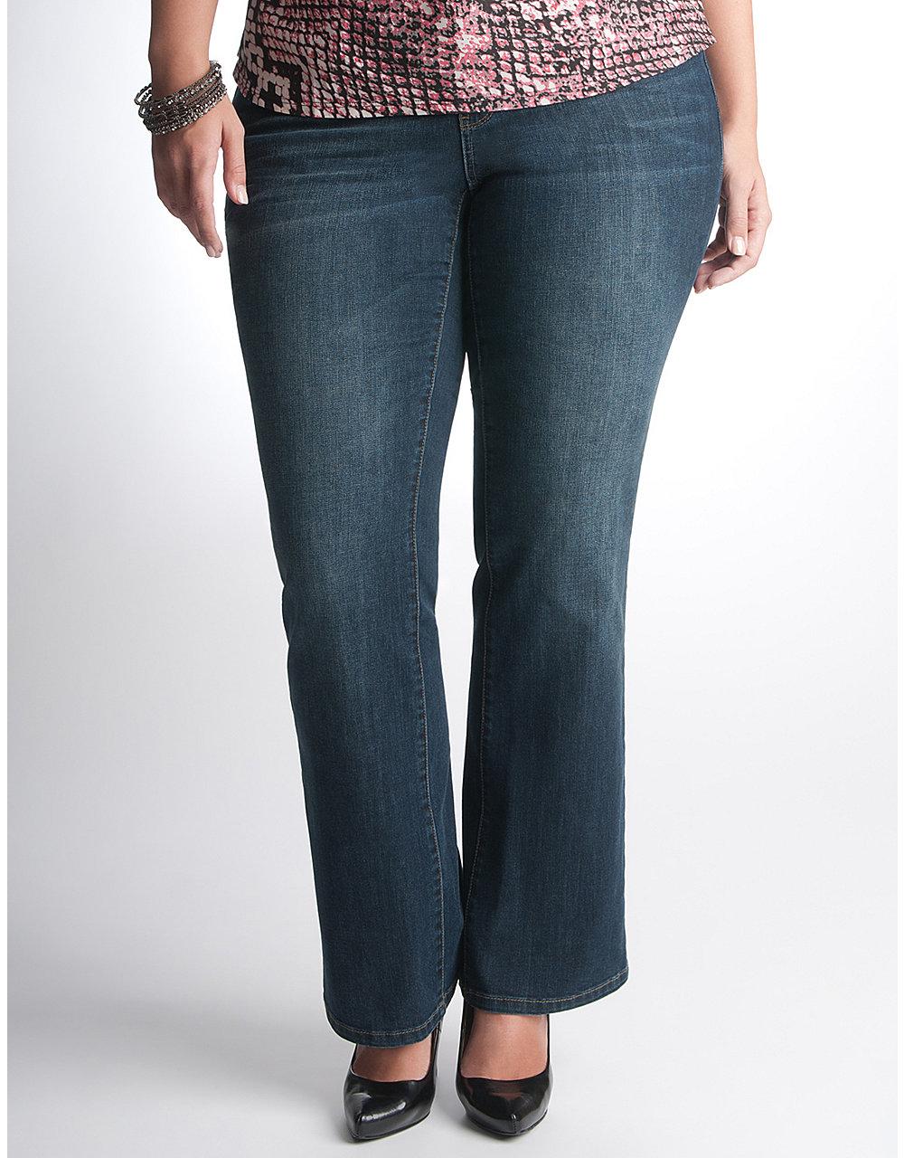 Plus Size Mercer St. Bootcut Jean by DKNY JEANS | Lane Bryant