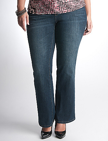 Plus Size Boot Cut Jeans