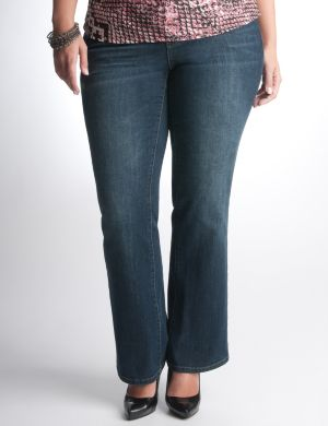 Mercer St. bootcut jean by DKNY JEANS