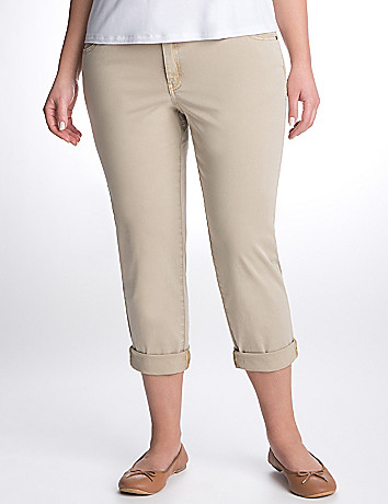 Full Figure Rolled Cuff Jean by Lane Bryant