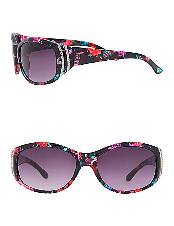 Floral Frame Sunglasses by Lane Bryant