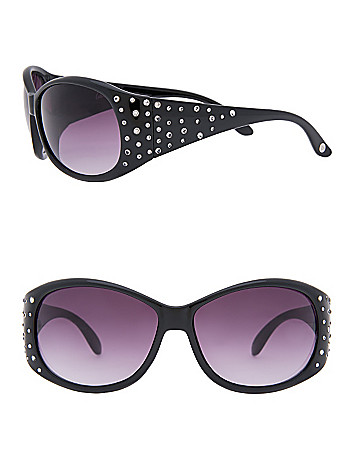 Rhinestone Sprinkled Sunglasses by Lane Bryant