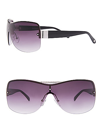 Rimless shield Sunglasses by Lane Bryant