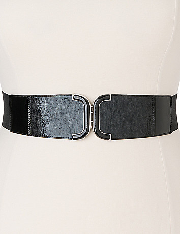 Curved stretch belt by Lane Bryant