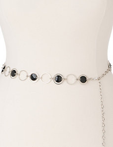 Beaded chain belt by Lane Bryant