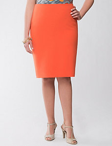 Lane Collection scuba skirt by LANE BRYANT