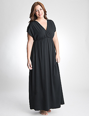 Plus Size Maxi Dress Swim Cover Up by Cacique