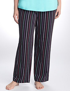Dotted stripe sleep pant