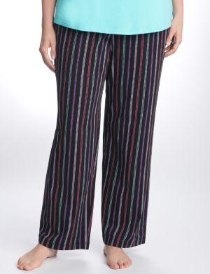 Dotted stripe sleep pant