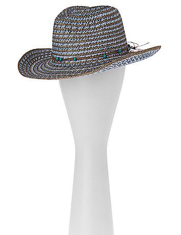 Beaded Cowboy Hat by Lane Bryant