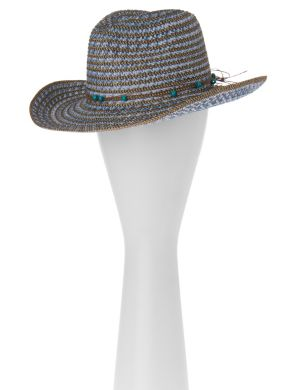 Beaded cowgirl hat