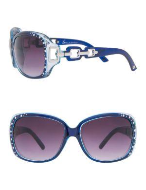 Embellished frame sunglasses